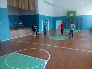 Соревнования по баскетболу . 6-8кл.